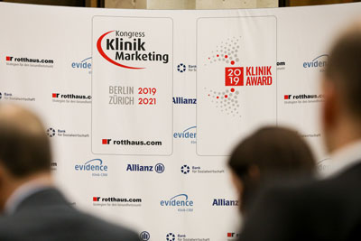 evidence am Kongress Klinikmarketing und KlinikAward 2019